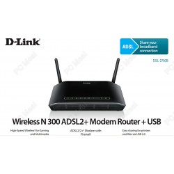 Modem Routeur D-LINK N300 ADSL2