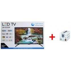 "TV LED 32""  + Régulateur"