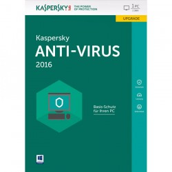 Kaspersky Antivirus 2 User 2016