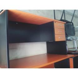 Bureau personnel : Table tiroir sans retour